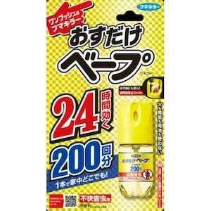 フマキラー株式会社 おすだけベープ ワンプッシュ式 スプレー 200回分 無香料(25.1ml)【お...