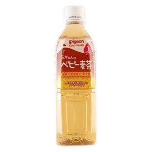 ピジョン株式会社『ピジョン 赤ちゃんのベビー麦茶 500ml(1ヶ月頃から)』×24本セット 【北海...