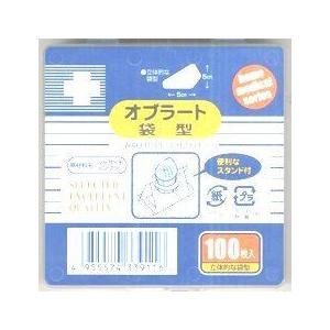 【N】日進医療器株式会社 Nオブラート袋型 100枚入×20個セット|drugpure