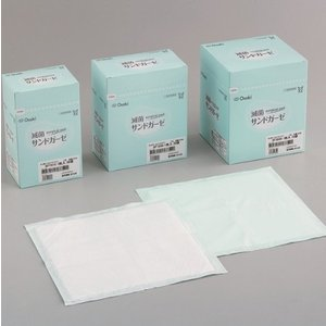 オオサキメディカル(株) 手術用被覆・保護材 滅菌サンドガーゼ SF7515 1枚入(30袋)(7....