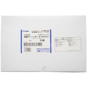 オオサキメディカル株式会社  滅菌ドレーンガーゼ SS3012-1 50袋(7.5cm×7.5cm ...