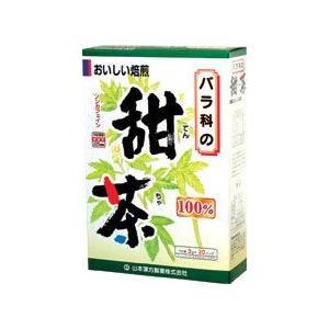 Tポイント8倍相当 山本漢方の甜茶 3g×20包×10個