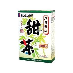 Tポイント13倍相当 山本漢方の甜茶 3g×20包×10個