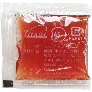 カセイ食品 いちごミックスジャム 15g×40包【給食 ジャム マーガリン パテ】【北海道・沖縄は別途送料必要】|drugpure