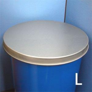200リットル バンドを装着した オープンドラム缶用 亜鉛製 保護蓋 c49y|drumcanya