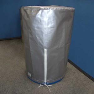 200リットルドラム缶用 保護カバー(標準タイプ ひも、チャック付き / ロング) 19色 c40y|drumcanya