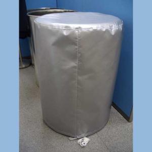 200リットルドラム缶用 保護カバー(耐熱・防火タイプ ひも付き / ロング) c43y|drumcanya
