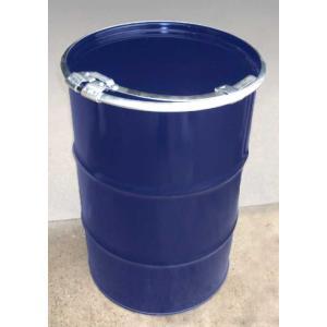 【代引不可商品】200L鉄製オープンドラム缶1.6mm 厚(バンド各種) d11y|drumcanya