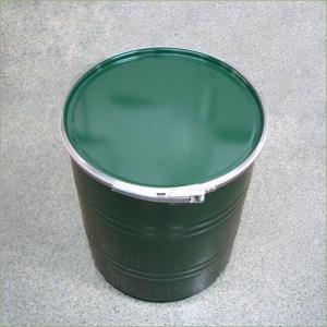 50リットル鉄製オープンドラム缶 外レバーバンド d2y|drumcanya