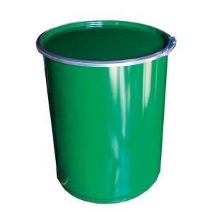 56L 鉄製オープンドラム缶(外レバーバンド) d2-1y drumcanya
