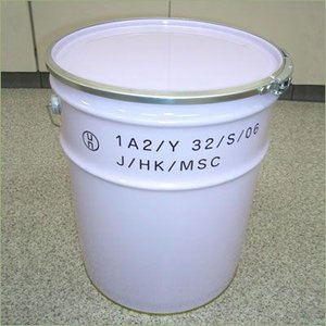 20L 鉄製 オープンペール缶 (外レバーバンド UN仕様) p13y|drumcanya