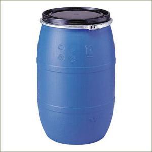 【代引不可】サンコー プラスチック製 オープンドラム缶 UN仕様 PDO120L-1 d53y|drumcanya