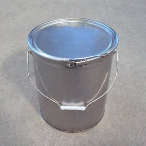 20Lステンレス製オープンドラム缶(外レバーバンド) d19y|drumcanya
