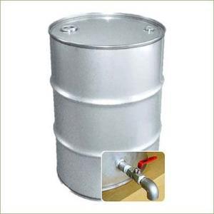 専用バルブ付 200Lステンレスクローズドラム缶  d33y|drumcanya