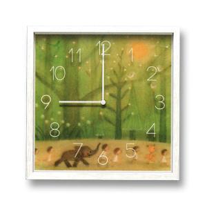 壁掛け時計 CAC51548 森を散歩(IA02025) druva