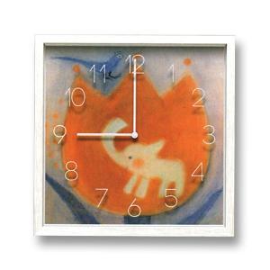 壁掛け時計 CAC51549 チューリップぞう(IA02025) druva