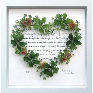 アートパネル IHS50666 Grass Heart (IA01114) druva