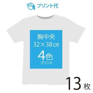 オリジナルプリント代 胸中央 4色 13枚|ds-t