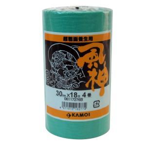 カモ井 マスキングテープ 風神 超粗面用 4巻入 30mm×18M