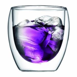 bodum PAVINA ダブルウォールグラス 0.25L (2個セット) 4558-10 ギフト お祝い プレゼント ペア 母の日 父の日 敬老の日 グラス