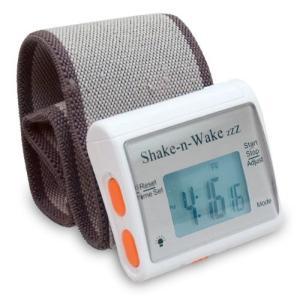 シェイクン・ウェイク サイレントバイレーティング目覚まし時計 Shake-n-Wake 並行輸入