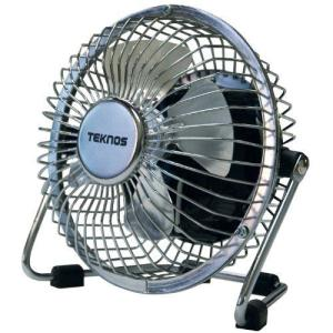 TEKNOS マグネット扇風機 シルバー MG-9 35291|dshopone
