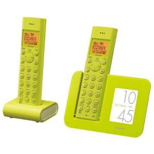 シャープ デジタルコードレス電話機 子機1台付き グリーン系 JD-3C1CW-G
