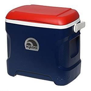 Igloo Contour Cooler (Blue/レッド/White, 30-Quart)(海外取寄せ品)の商品画像 ナビ