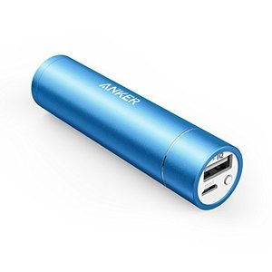 ANKER Astro Mini モバイルバッテリー 3000mAh 小型 軽量 スティックタイプ ブラック iPhone5S 5C 5 4S / iPod / Galaxy / Xepria / Android / 各種スマホ / Wi-