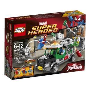 <title>レゴ スーパー ヒーローズ 選択 76015 ドクター オクトパスのトラック強盗 レゴジャパン</title>