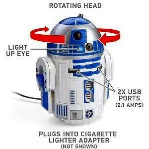 <title>スターウォーズ 特価キャンペーン R2-D2 USB 車載充電器 iPhon iPad Androido対応 並行輸入品</title>