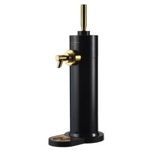 家庭用ビールサーバー 冷たさキープ&冷却できる保冷剤付属 ブラック GH-BEERF-BK|dshopone