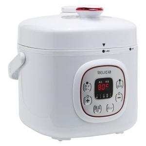 <title>物品 TOHO RELICIA コンパクト電気圧力鍋 2L RLC-PC02RF</title>