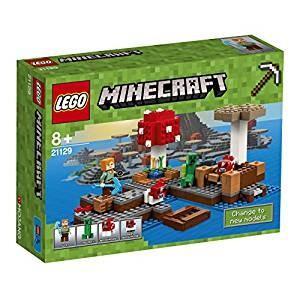 レゴ LEGO 爆売り マインクラフト きのこの島 21129 送料無料 贈答