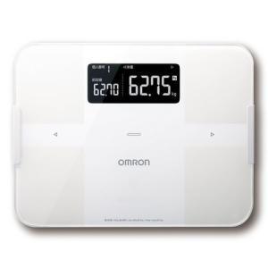 オムロン 体重体組成計 OMRON connect対応 HBF-256T-W【送料無料】|dshopone