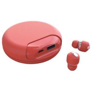 Yell Acoustic Bluetooth ワイヤレスイヤホン Air Twins モバイルバッテリー付き レッド ブランド品 低反発イヤーピース付き 完全独立 値下げ AT9995 左右独立 超小型