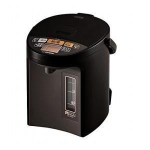象印 電気ポット 新着セール 2.2L 買取 省エネ CV-GA22-TA VE電気まほうびん ブラウン