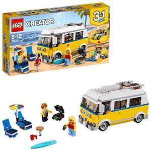 レゴ LEGO クリエイター 期間限定今なら送料無料 サーファーのキャンプワゴン 31079 希少
