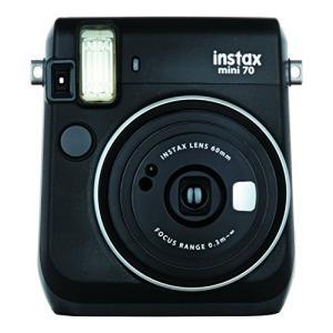 FUJIFILM インスタントカメラ 毎日がバーゲンセール チェキ instax mini 70 MINI INS 人気ショップが最安値挑戦 ブラック 70N BLACK