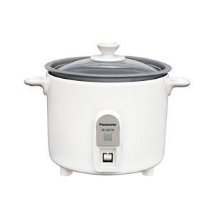 人気ブランド パナソニック 1.5合 絶品 炊飯器 小型 ホワイト ミニクッカー SR-MC03-W