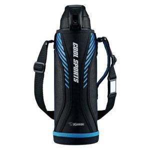 象印 (ZOJIRUSHI) 水筒 直飲み スポーツタイプ ステンレスクールボトル 1.5L ブルーブラック SD-FA15-BB|dshopone