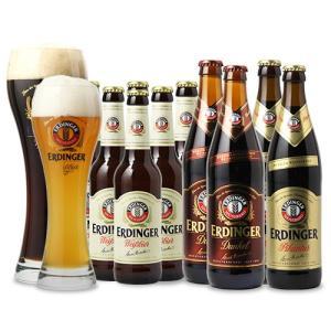 お中元 御中元 ギフト ポイント5倍 専用グラス2個付 ドイツビール 送料無料 新発売 エルディンガー×10本セット 世界 海外|dskwine