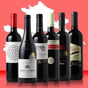 【200セット限定発売】【ポイント10倍】【送料無料】【好評第3弾】ヨーロッパの高品質赤ワインが味わえる!超極上品質赤ワイン飲み比べ6本セット【父の日】