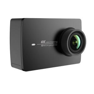 YI 4K アクションカメラ スポーツカメラ ウェアラブルカメラ 155°広角レンズ JP版 オリジナル正規品 黒 90049|dsky