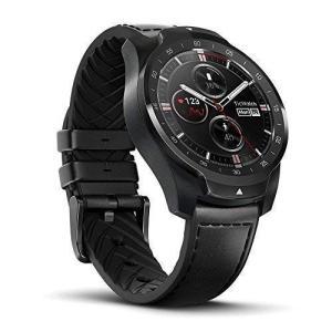 TicWatch Pro スマートウォッチ 長い待機時間 二重層ディスプレイ スポーツ腕時計 心拍計 GPS 歩数計 健康管理 電話着信/LINE通知 防水/防塵 音声認識 Wear OS b|dsky