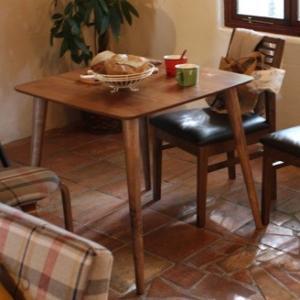※こちらの商品はテーブルのみの販売です。椅子等セット販売ではございません。 天然木(ラバーウッド) ...