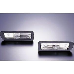 Viewウインカー スカイライン ECR33 サイドターンレンズ クリア、クリア 日産 オレンジバルブ付 サイドマーカー|dspeed