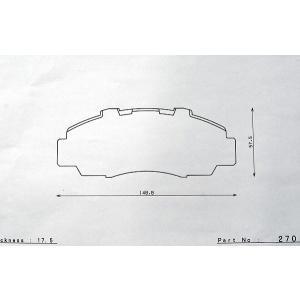 G1ブレーキパッド  dp270 ステップワゴン RF3 RF4 RF5 RF6 RF7 RF8 RF1 RF2  フロント用 ディスクパッド DSPEE|dspeed