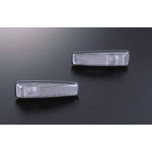 Viewウインカー Z32 Sターン クリア、クリア 日産 オレンジバルブ付 サイドマーカー DSOPEED fs2gm|dspeed