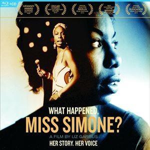 輸入盤 NINA SIMONE / WHAT HAPPENED MS.SIMONE? [BLU-RAY+CD]|dss
